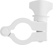 "[VP-VNG150WHT] Clamp, Maxi Flange, 1"" (25.4 mm) to 1.5"" (38.1 mm), Glass Reinforced White Nylon"