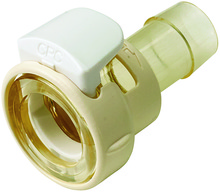 [MPCK17004T39] 1/4 Hose Barb Non-Valved Coupling Body With Lock