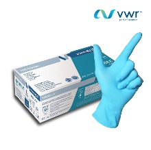 VWR Consumable GLOVE NITRILE AMBI POWDER-FREE Long L (Strong Chemical)