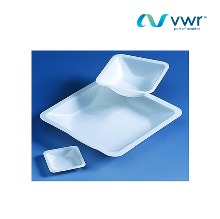 VWR-BRND155548   Weighing boats, dish, PS, diamond shape, 30ml, 80×56×14mm [500/PK]