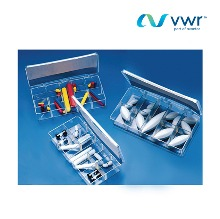 VWR-442-0519  Magnetic stirring bars, boxed sets Polygon 2/18 asst cylindrical,18.5